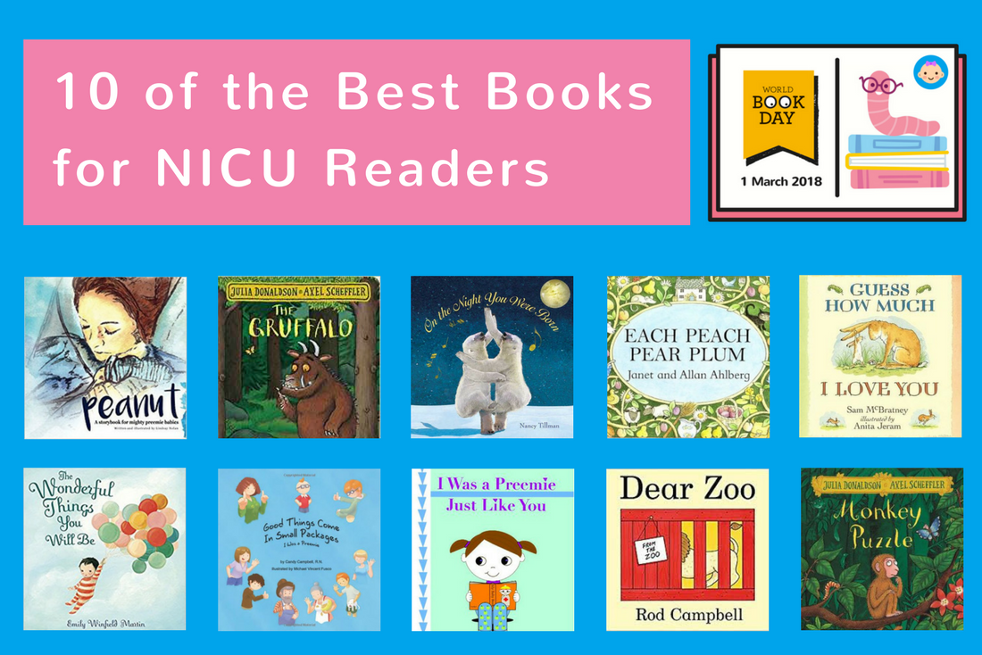 10 of the best books for NICU readers